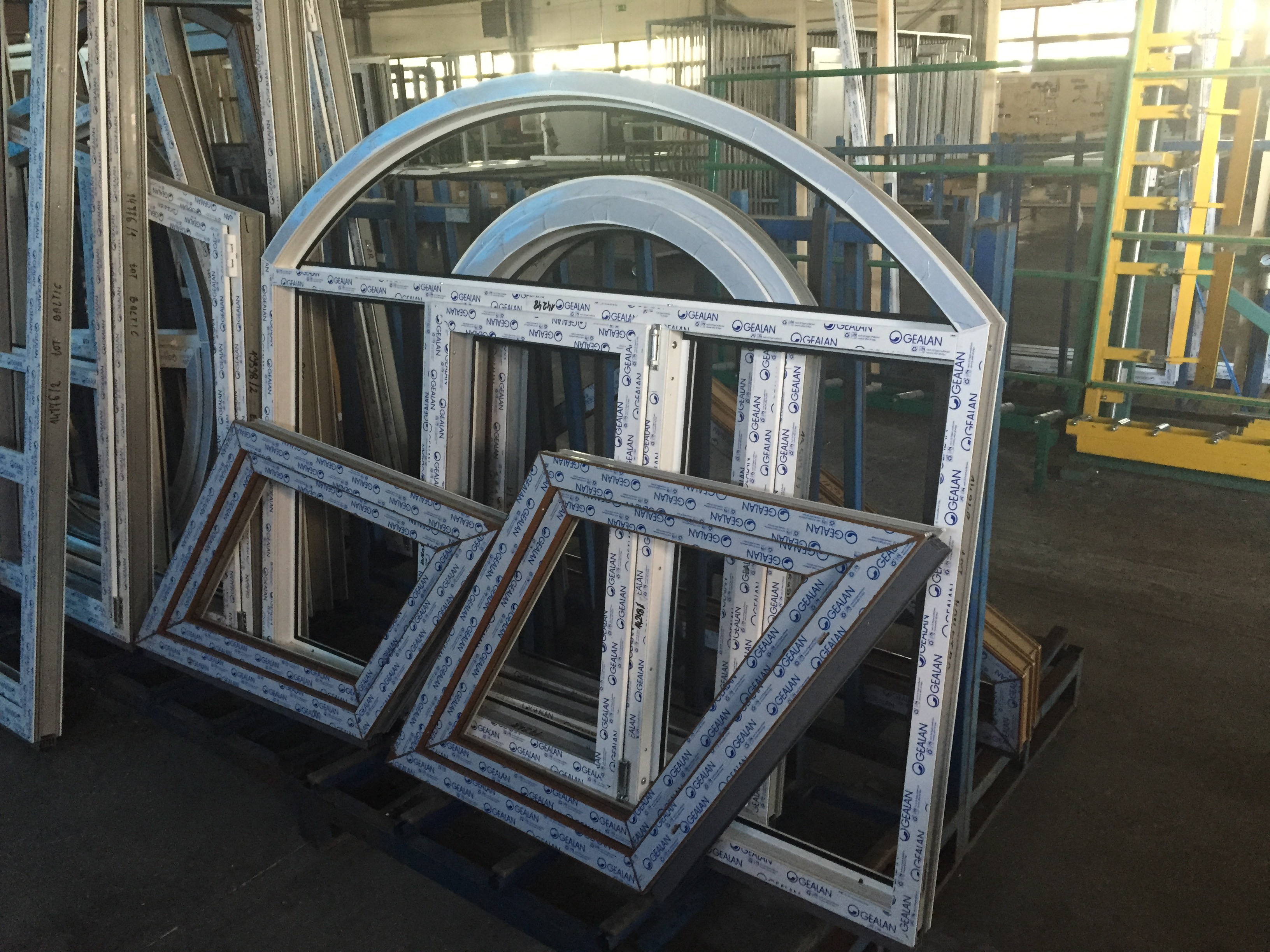 Menuiserie PVC formes - Nouvel'Er